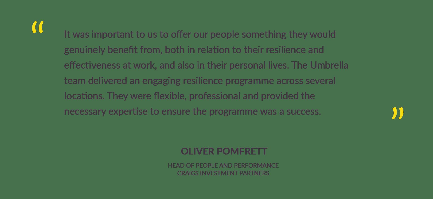 Oliver Pomfrett