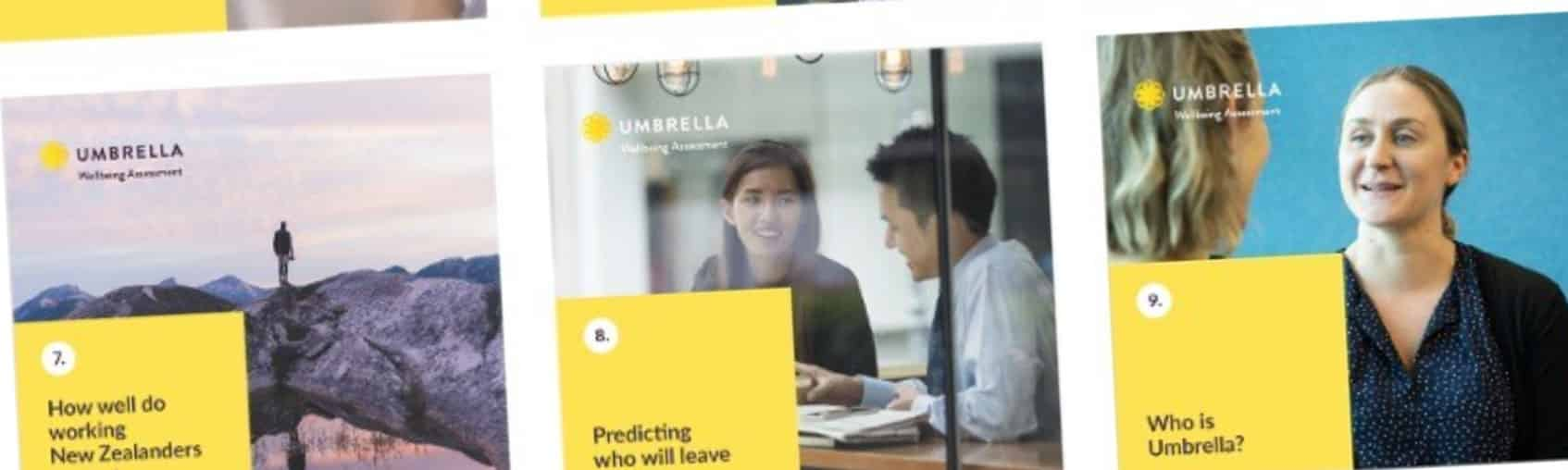 New Umbrella research on workplace wellbeing